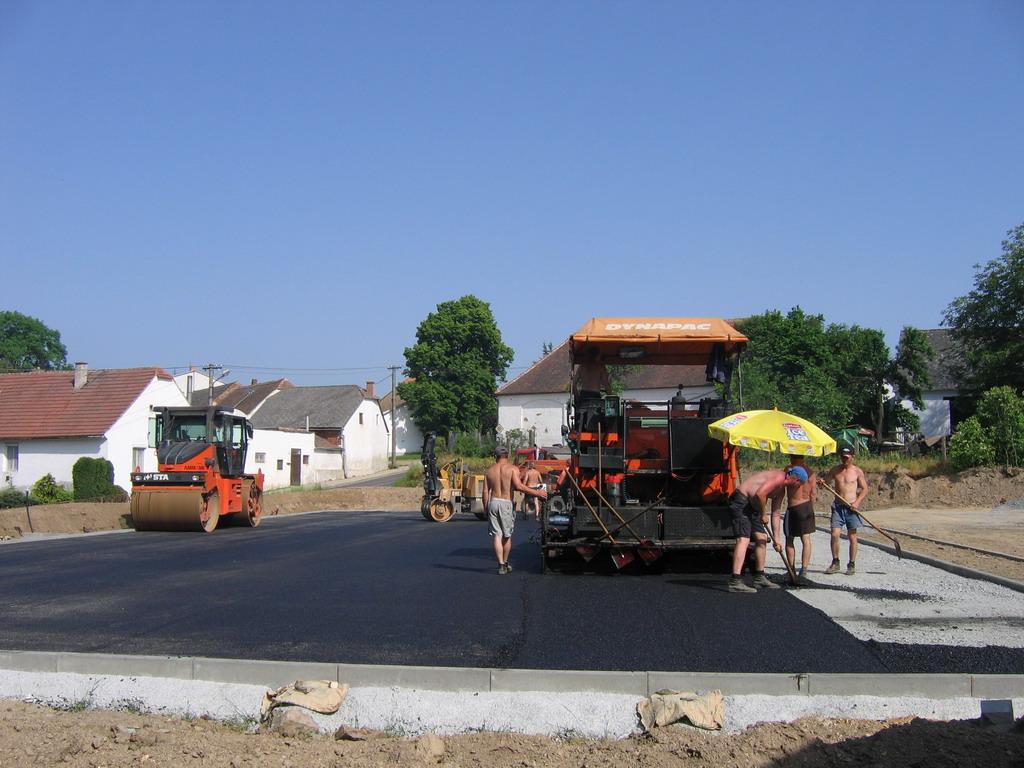 Zemní práce - asfalt